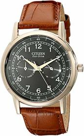 Citizen Watches AO9003-08E Eco-Drive Rose Gold Ton