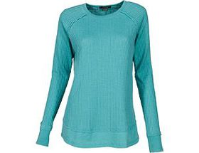 Natural Reflections® Women's Burnout Waffle Knit S