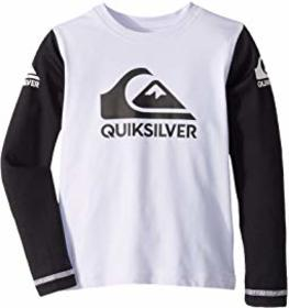 Quiksilver Kids Heats On Long Sleeve Surf Shirt (T