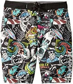 Hurley Kids Sticker Boardshorts (Big Kids)