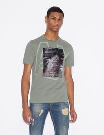 Armani T-SHIRT WITH PHOTOGRAPHIC PRINT