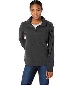 The North Face Mountain 1\u002F4 Zip Snap Sweatshi