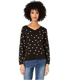 Kate Spade New York Heart It Heartbeat Sweater