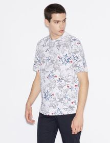 Armani PATTERNED SHORT-SLEEVED T-SHIRT