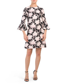 VALENTINO Made In Italy Floral Print Dress
