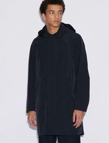 Armani TRENCH WITH REMOVABLE HOOD