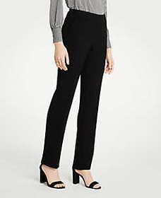 The Straight Pant In Doubleweave - Classic Fit
