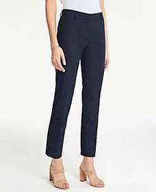 The Ankle Pant In Eyelet - Curvy Fit