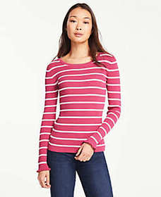 Stripe Perfect Pullover