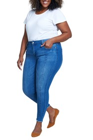 Seven7 Ankle Skinny Jeans (Plus Size)
