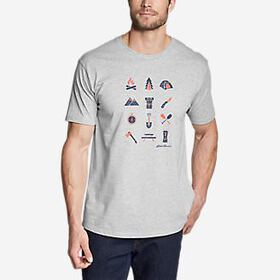 Men's Graphic T-Shirt - Camp Icon