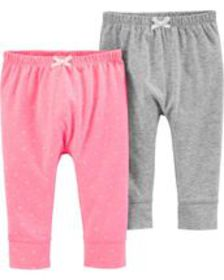 carters Baby Girl 2-Pack Bubble Pants