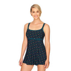 Longitude Scoop Neck Thick Strap Candy Dot Empire