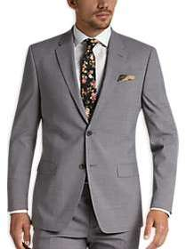 Tommy Hilfiger Light Gray Slim Fit Suit