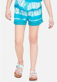 Justice Tie Dye Smocked Soft Shorts