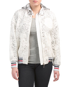 MONCLER Made In Italy Lace Outwear Jacket