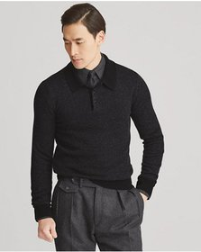 Ralph Lauren Cashmere Polo Sweater