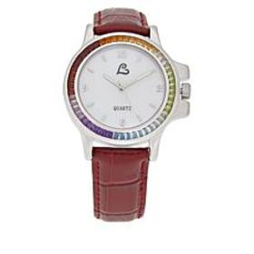 Colleen Lopez Multi-Gemstone Mother-of-Pearl Dial