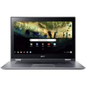 "Acer - 2-in-1 15.6"" Refurbished Touch-Screen Chrom"