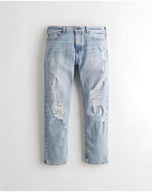 Hollister Hollister Epic Flex Crop Relaxed Dad Jea