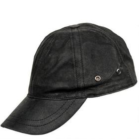 Wilsons Leather Crackle Leather Baseball Hat