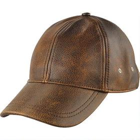 Wilsons Leather Distressed Leather Baseball Cap