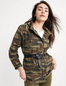 Lucky Brand Washed Camo Jacket