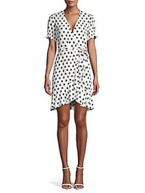 Diane von Furstenberg Floral A-Line Dress FLEUR DO