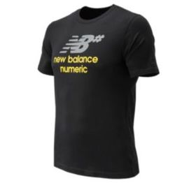 New balance Men's Numeric Stacked Short Sleeve Tee