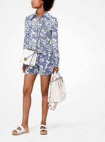 Michael Kors Mixed Floral Cady Jacket