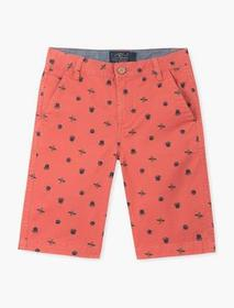 Lucky Brand Printed Bear Surfer Shor