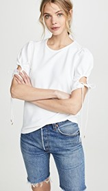 See by Chloe Tie Sleeve T-Shirt