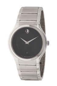 Movado Men's Quadro Stainless Steel Bracelet Watch