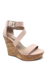 Charles By Charles David Amigo Cork Wedge Sandal