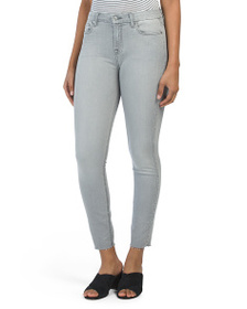 7 FOR ALL MANKIND High Waist Skinny Ankle Jeans Wi