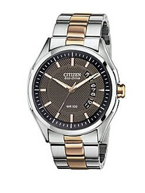 Citizen Eco-Drive Two-Tone Stainless Steel Bracele