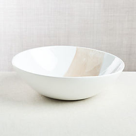 Crate Barrel Rosa Serving Bowl