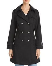 VINCE CAMUTO - Double-Breasted Button Front Trench