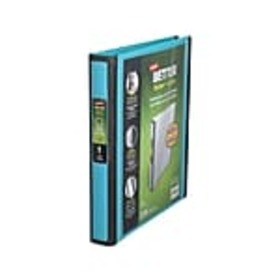 Staples Better 1-Inch D 3-Ring View Binder, Teal (