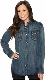 Wrangler Long Sleeve Snap Western Shirt