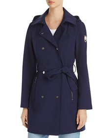 VINCE CAMUTO - Double-Breasted Snap Front Trench C