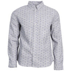 UNITED BY BLUE Men's Bison Print Button-Down Long-
