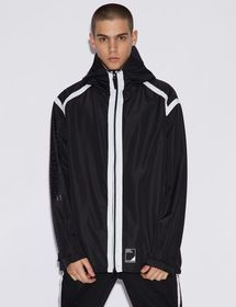 Armani JACKET WITH CONTRASTING TRIM