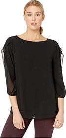 Calvin Klein Long Sleeve with Ruffle Detail