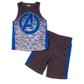 Boys (4-7) Kids with Character 2pc. Avengers Top &