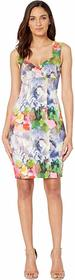 Nicole Miller Faint Flowers Sweet Heart Dress