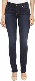 7 For All Mankind Kimmie Straight in Dark Moonligh