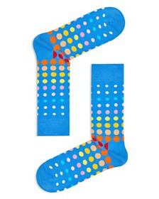 Happy Socks - Faded Disco Dot Socks