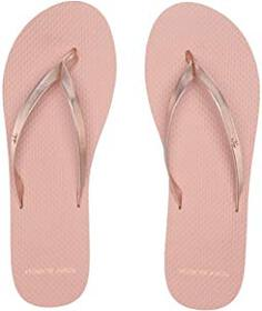 Tory Burch Metallic Leather Flip-Flop