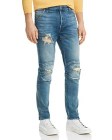 G-STAR RAW - 5620 3D Slim Fit Jeans in Medium Aged